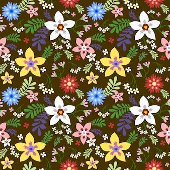 Padrão floral sem emenda em vetor