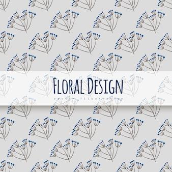 Padrão floral sem emenda na moda