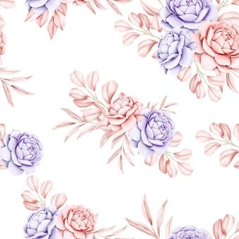 Padrão floral sem emenda