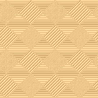 Padrão geométrico 3d de luz amarela pálida