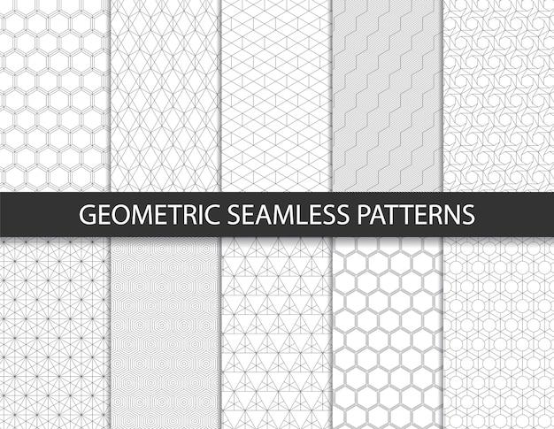 Padrão geométrico abstrato. plano de fundo transparente.