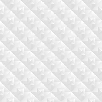 Padrão geométrico branco sem costura moderno