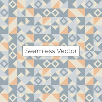 Padrão geométrico de mosaico colorido