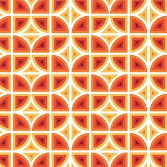 Padrão geométrico descolado