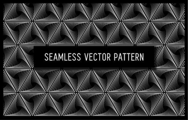 Padrão geométrico dobrável sem costura
