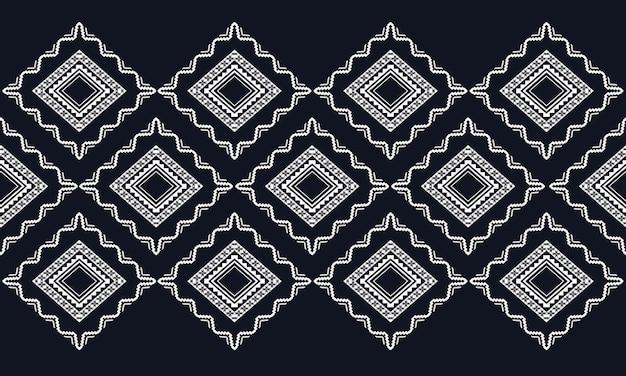 Padrão geométrico étnico oriental. padrão sem emenda para tecido, fundo, papel de parede