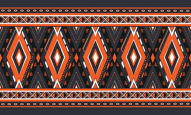 Padrão geométrico étnico oriental. padrão sem emenda.