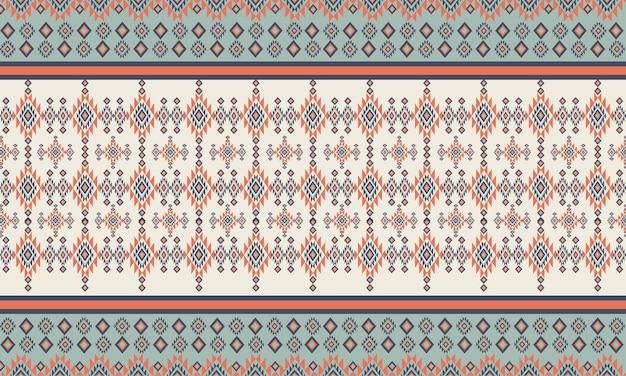 Padrão geométrico étnico padrão oriental