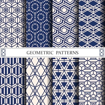 Padrão geométrico para texturas de fundo ou superfície de página da web