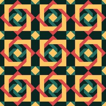 Padrão geométrico português abstrato
