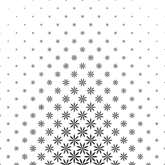 Padrão geométrico preto e branco - plano de fundo