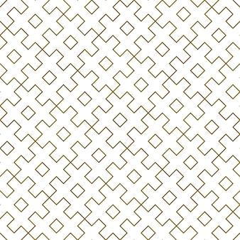 Padrão geométrico sem costura linhas de espessura média