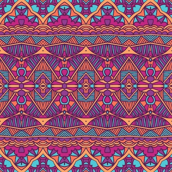 Padrão geométrico tribal étnico.