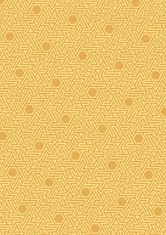 Padrão geométrico vetorial