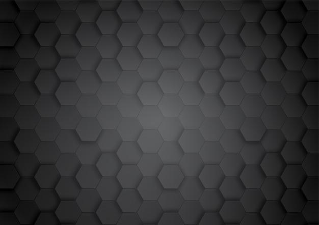 Padrão hexágono fundo papel de parede abstrato e geométrico com forma de capa da web