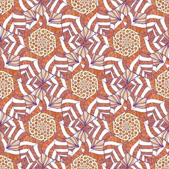 Padrão indiano decorativo. fundo do outono do vetor. ilustração para papel de embrulho, design de embalagem