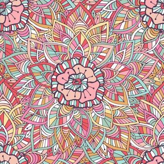 Padrão indiano decorativo. vector textura boho. ilustração para papel de embrulho, design de embalagens e decoração