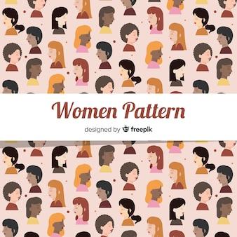 Padrão internacional de mulheres