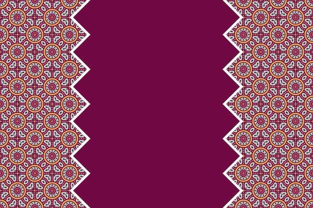Padrão linear linear colorido geométrico