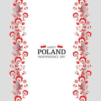 Padrão nacional do dia da independência da polônia