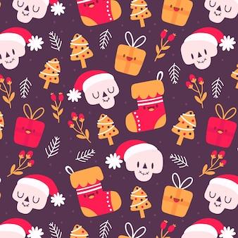 Padrão natal engraçado