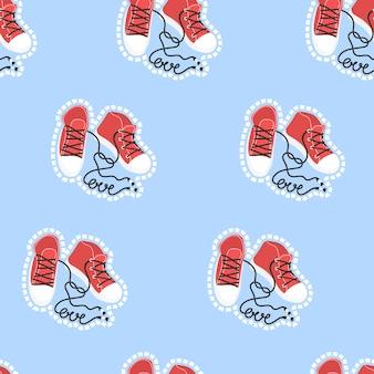 Padrão para ilustração vetorial de dia dos namorados imprimir papel têxtil de papel e design de cartão