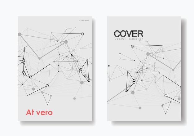 Padrão para web design. modelo de design de cartaz do conceito. modelo de página da web. conceito de tecnologia de ciência digital. modelo de banner do vetor.