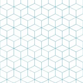 Padrão quadrado branco