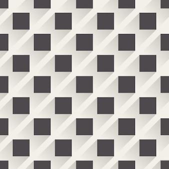 Padrão quadrado, fundo geométrico abstrato. ilustração de estilo criativo e elegante