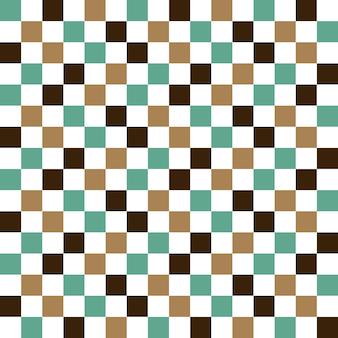 Padrão quadrado. fundo geométrico simples. ilustração de estilo criativo e elegante