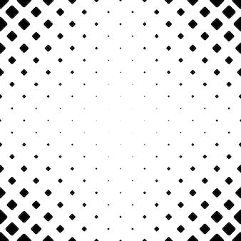 Padrão quadrado monocromático