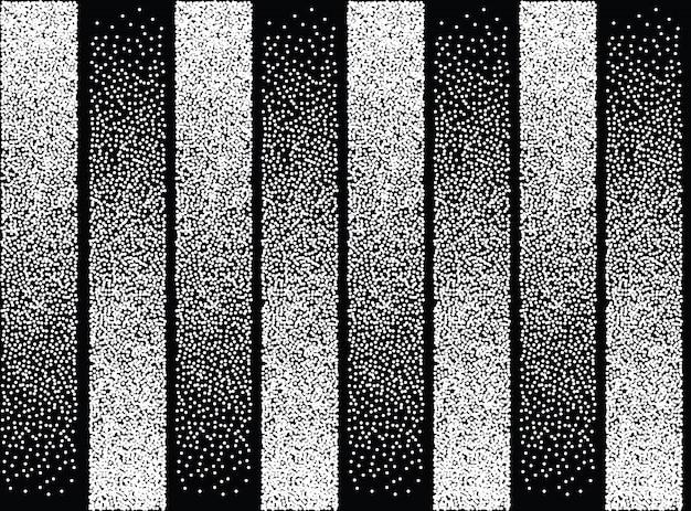 Padrão sem costura de cor abstrata em preto e branco