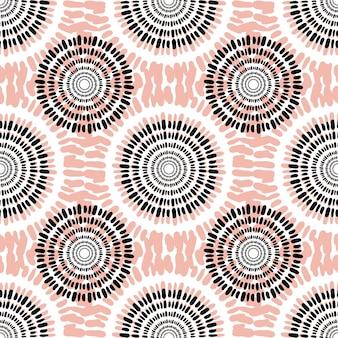 Padrão sem costura de tecido têxtil. textura casual de fundo de moda. cor do pêssego. design de tecido abstrato de outono.