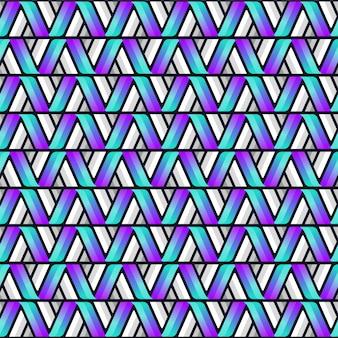 Padrão sem emenda abstrato com forma de triângulo