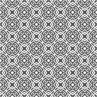 Padrão sem emenda abstrato de forma geométrica