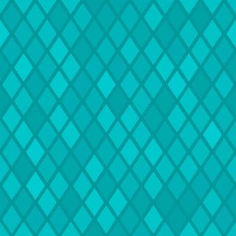 Padrão sem emenda abstrato de pequeno losango ou pixels em cores azuis claras