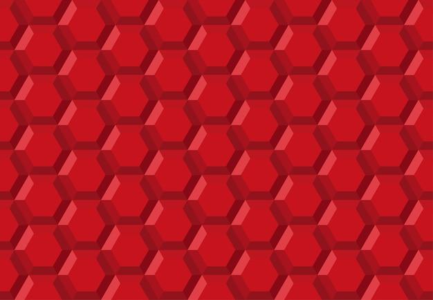 Padrão sem emenda abstrato de tecnologia de robô de hexágono de favo de mel