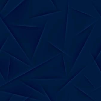 Padrão sem emenda abstrato em cores azuis escuras
