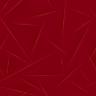 Padrão sem emenda abstrato em cores vermelhas Vetor Premium
