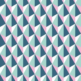 Padrão sem emenda abstrato geométrico de hexágonos.