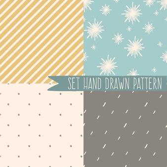 Padrão sem emenda abstrato minimalista com formas geométricas em fundo pastel. padrão boêmio