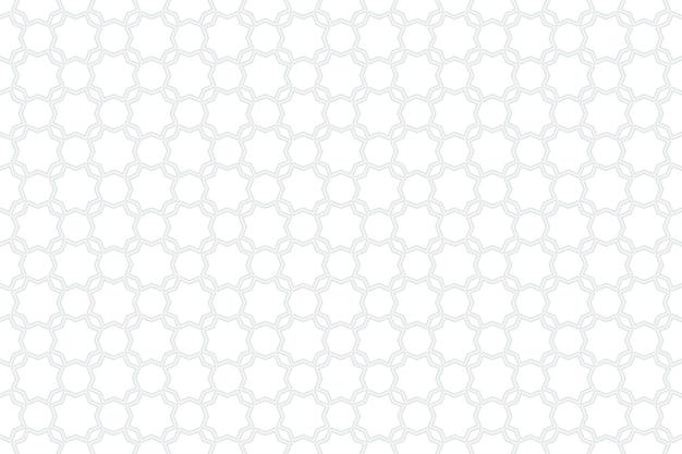 Padrão sem emenda árabe geométrico. textura islâmica. fundo de ornamento muçulmano.
