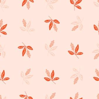 Padrão sem emenda botânico com folhas verdes. folhas e papéis de parede de flores. fundo floral.