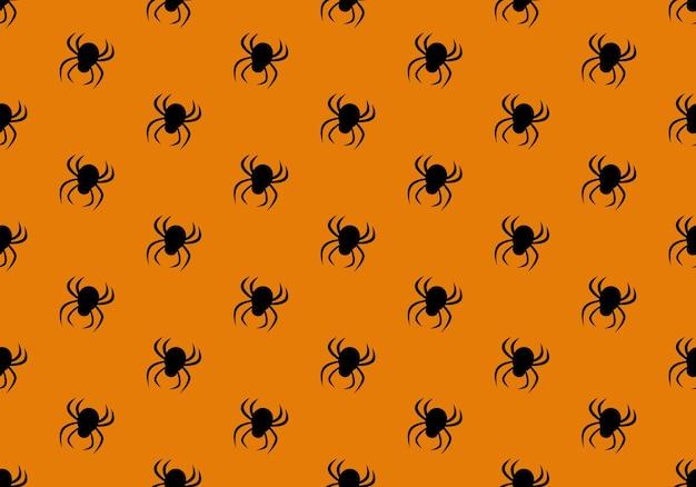 Padrão sem emenda com aranhas halloween decoração festa fundo festivo para papel têxtil holida ...