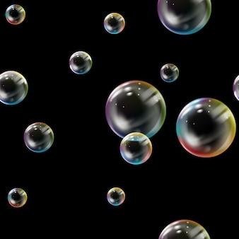 Padrão sem emenda com bolhas