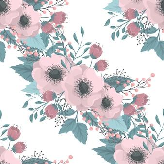 Padrão sem emenda com flores
