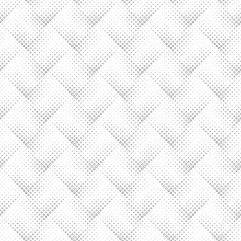 Padrão sem emenda de anel preto e branco geométrico