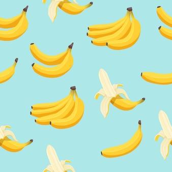 Padrão sem emenda de banana.