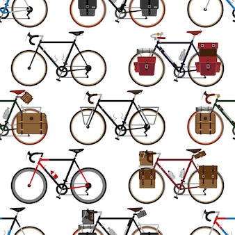 Padrão sem emenda de bicicleta