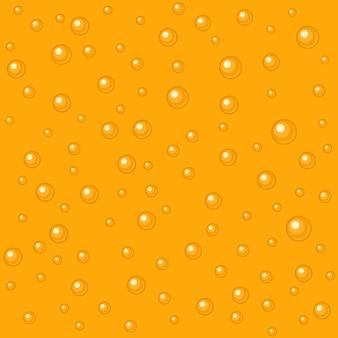 Padrão sem emenda de bolhas de cerveja